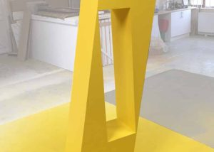 Sculptural display for TM Studio