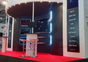 Airwave custom exhibition stands