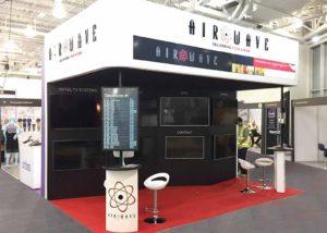 Airwave exhibition stand