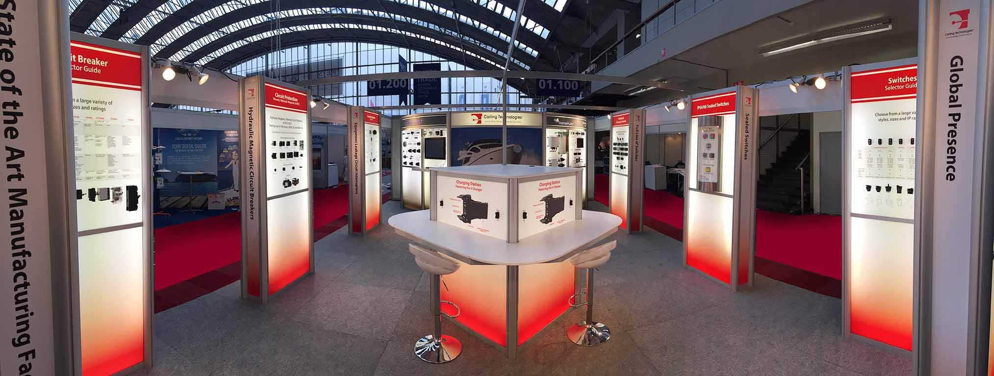 Carling modular stands exhibition