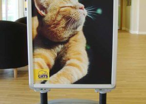 Free standing A board