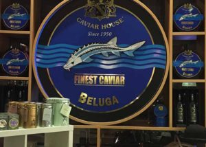 Caviar House shop display
