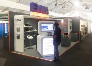 Elma exhibition stand at DVD show