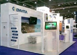 Envitia's London exhibition