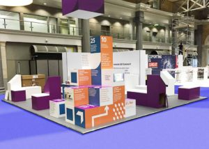Innovate UK exhibition stand