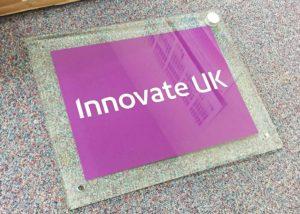 Innovate perspex signage