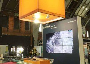 Lorega exhibition stand