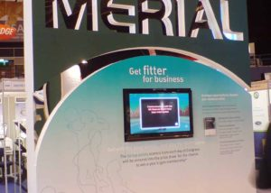 Merial exhibition stand