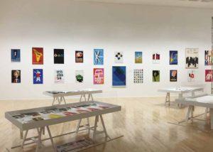 Monotype exhibition display
