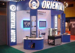 Oriental Motor exhibition stand