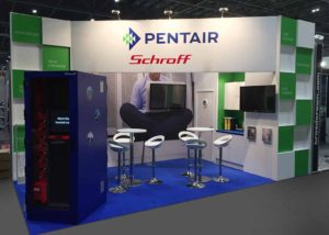 Pentair stand exhibition