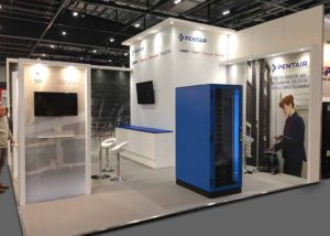 Pentair exhibition stand
