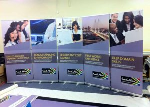 South Africa TA - roller banner graphics