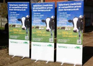 Pharmacy.co.uk roller banner graphics