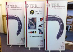 Total Foot Protection graphics