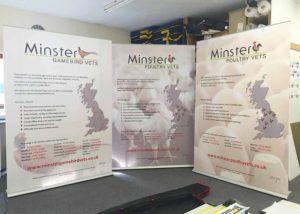 Origin roller banner graphics