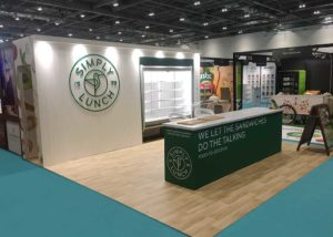 Simply lunch exhibition stand