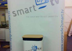 Smart Up TV pop-up banner graphics