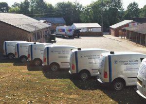 Westpoint multiple Van Livery