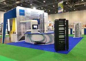Bespoke exhibition stand for Blue Helix