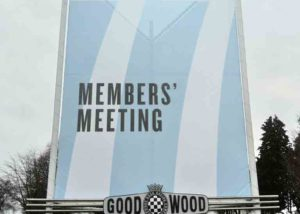 (9x) mesh banners printed and installed at Goodwood