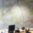 Estate agent wall map graphic