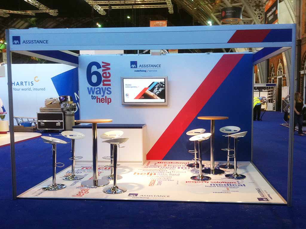 Exhibition Stand Hire Manchester : Axa manchester exhibition newshield