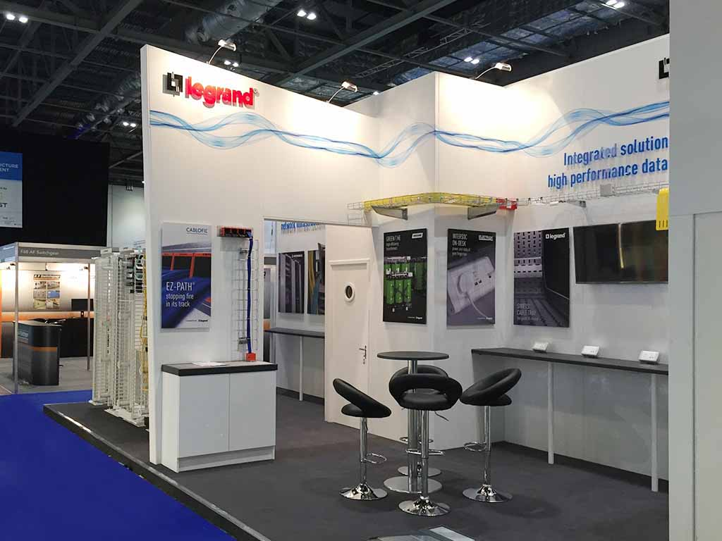 Exhibition Stand Designer Job Description : Legrand london newshield