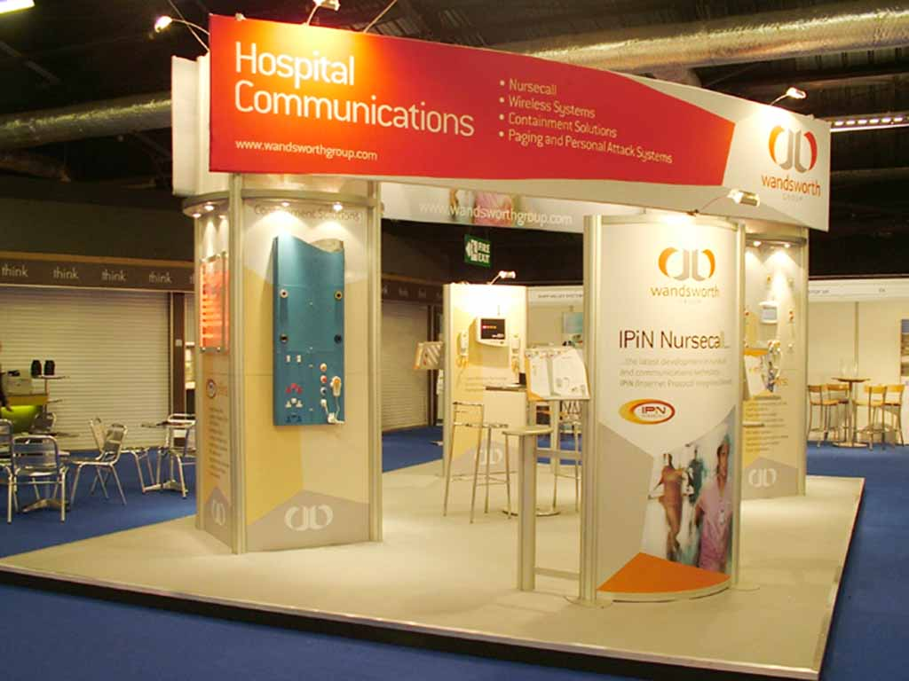 Modular Exhibition Stands London : Wandsworth manchester exhibition newshield