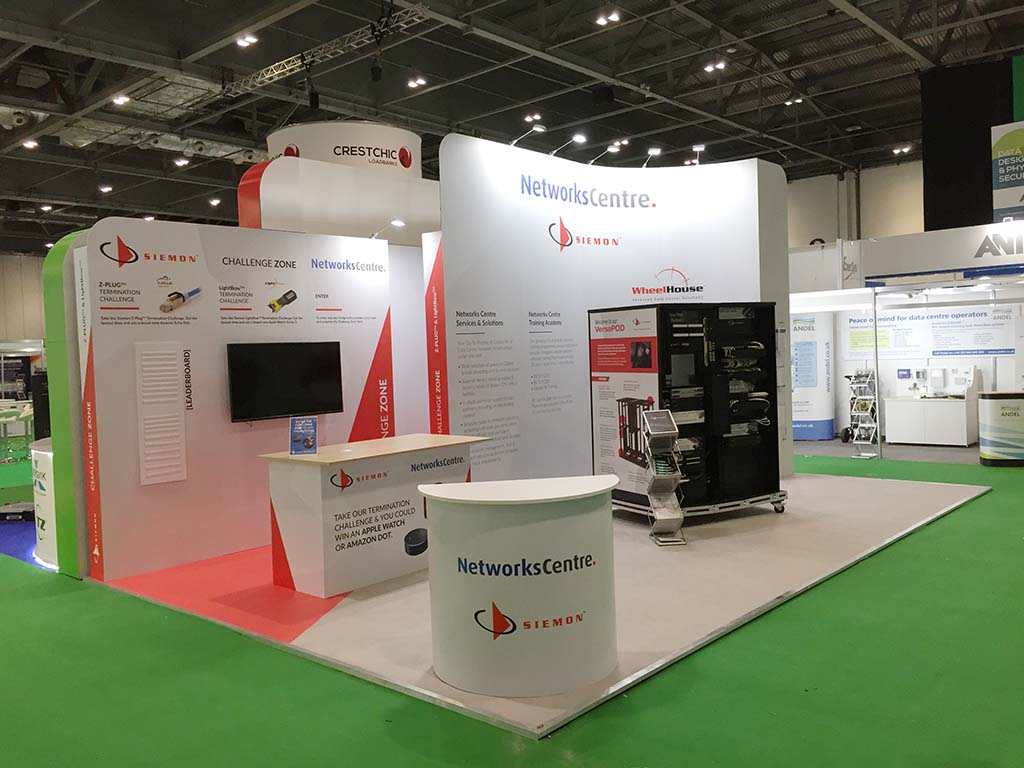 Modular Exhibition Stands Zone : Clip display : london newshield.co.uk