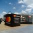 2m square cube installation at Goodwood